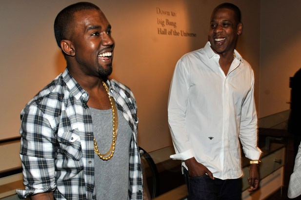 Kanye West & Jay-Z Hold 'Watch the Throne' Listening Party at Planetarium