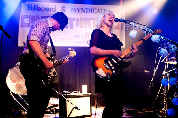 The Joy Formidable Rock Billboard's Pre-Lollapalooza Bash: Video