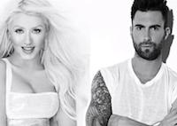 Maroon 5, Christina Aguilera Atop Hot 100 For Third Week