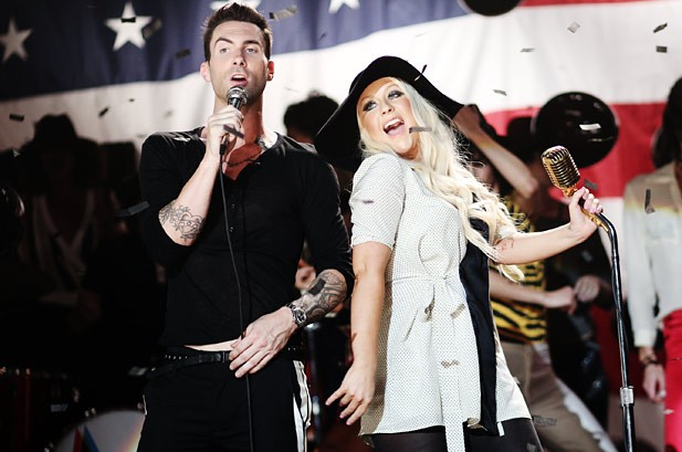 Adam Levine Calls 'Moves Like Jagger' a 'Risk' for Maroon 5: Video Interview