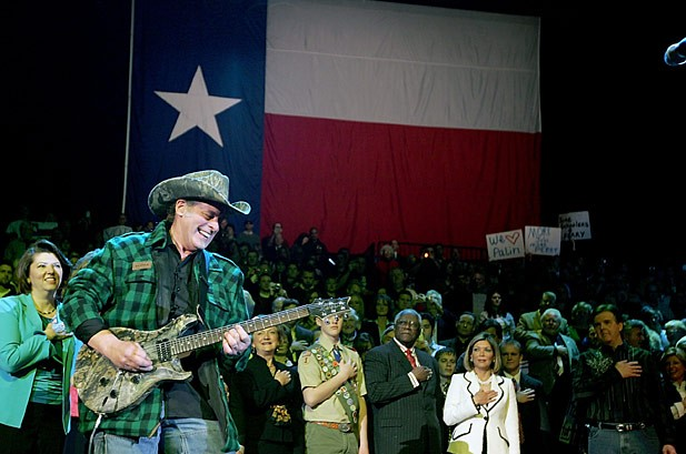 Ted Nugent 'Too Divisive' to Get Role in Rick Perry Campaign