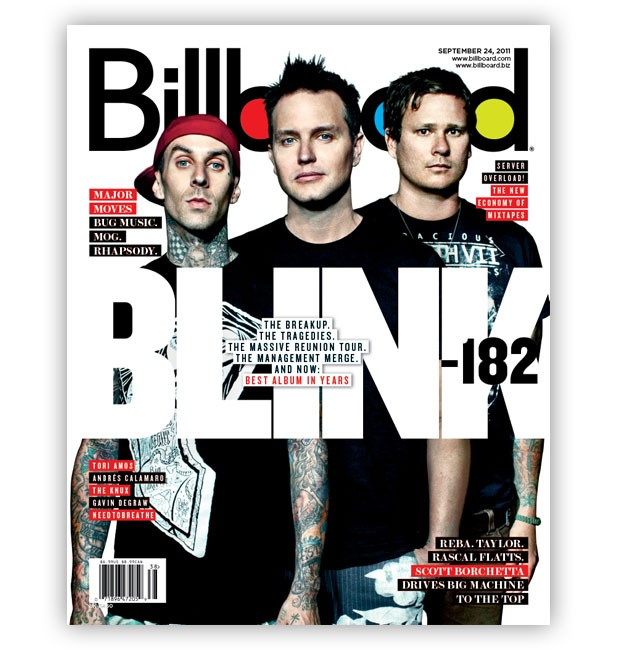 Blink-182: The Billboard Cover Story