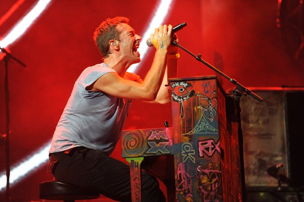 Coldplay: The band, onstage and off