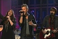 Lady Antebellum 'Own' Saturday Night Live: Watch