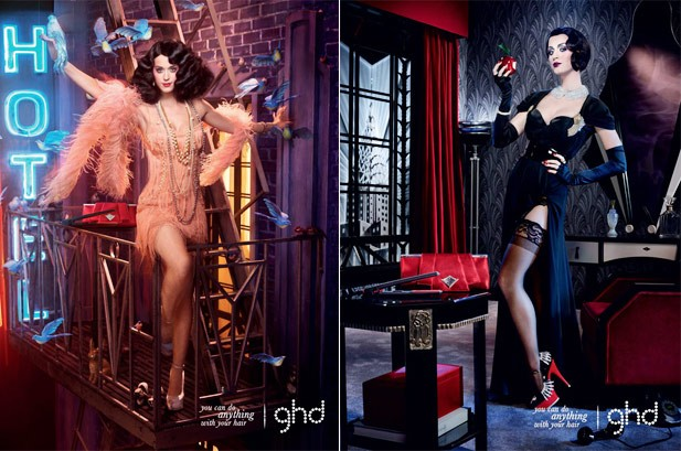 Katy Perry Is Flapper Chic in New Haircare Ads