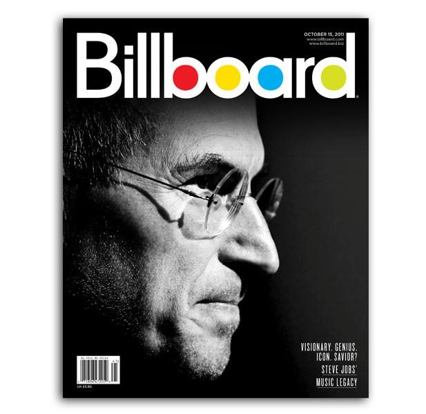 Steve Jobs Billboard Cover: Sneak Peek