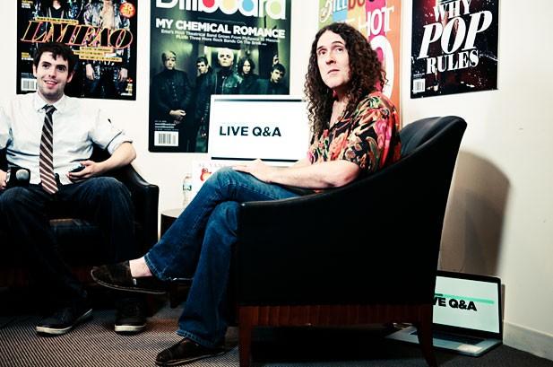 Live Q&A: Weird Al Yankovic