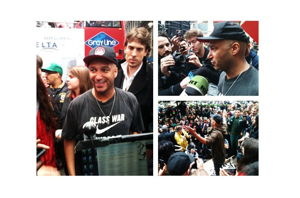 Tom Morello Occupies Wall Street: 'Every Movement Has a Soundtrack'