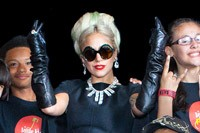 Lady Gaga Donates $13,000 to Charity in Little Kids Rock Event