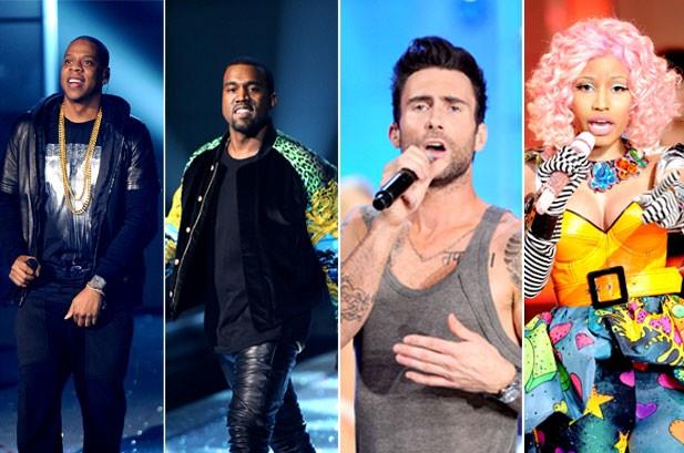 Kanye, Jay-Z, Nicki Minaj, Maroon 5 Rock Victoria's Secret Fashion Show: Watch