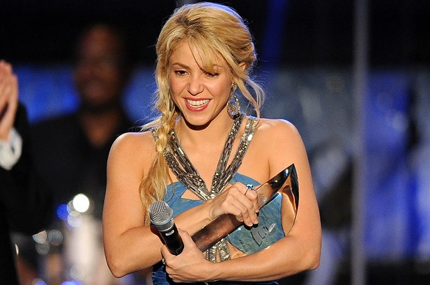 Shakira Honored as Latin Grammy Person of the Year