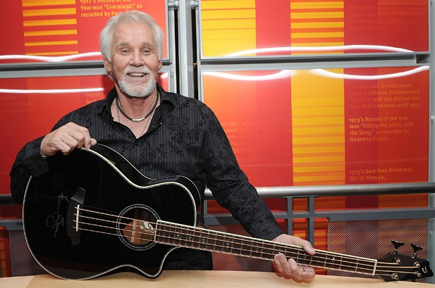 Kenny Rogers Hits the Road, Talks Album for 2012