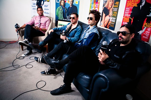 Live Q&A: 30 Seconds To Mars