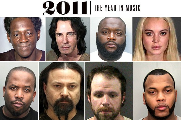 The Year in Arrests: 2011