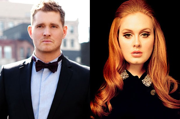 Michael Buble Remains No. 1, Adele's '21' Has Best Sales Week Yet