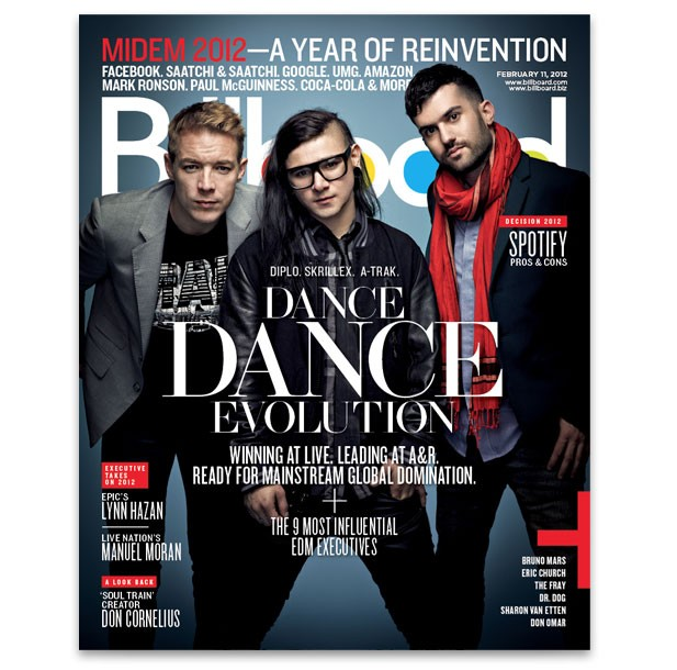 Billboard Magazine Covers 2012