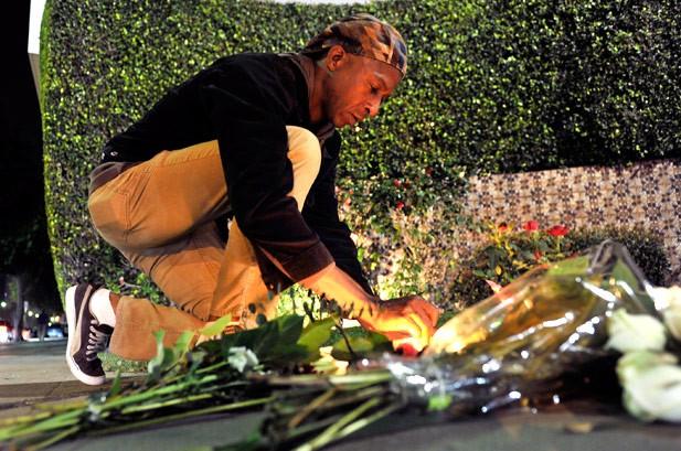 Photos: Artists & Fans Mourn Whitney Houston