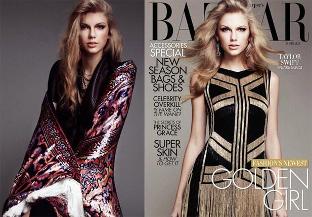 Taylor Swift Wears Kanye West in Harper's Bazaar (Australia)