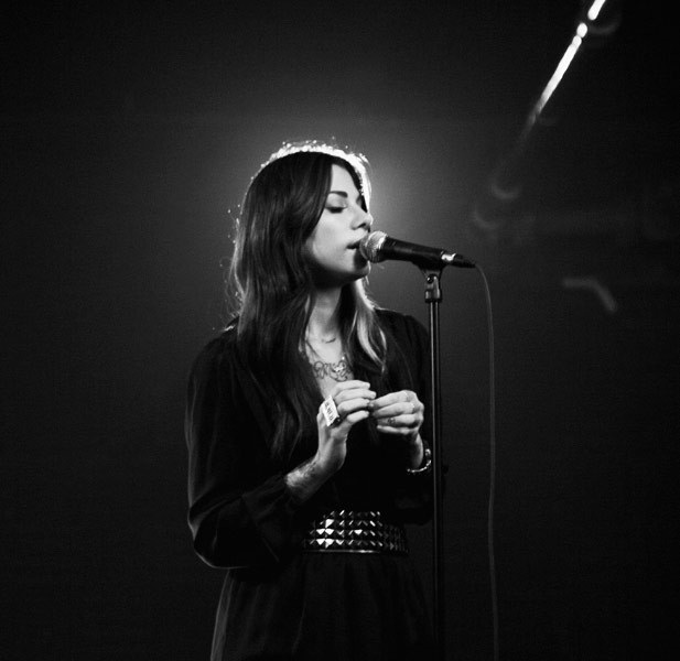 Photos: Christina Perri at Billboard Studios