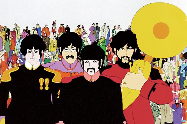 The Beatles' 'Yellow Submarine' Gets Digital Makeover