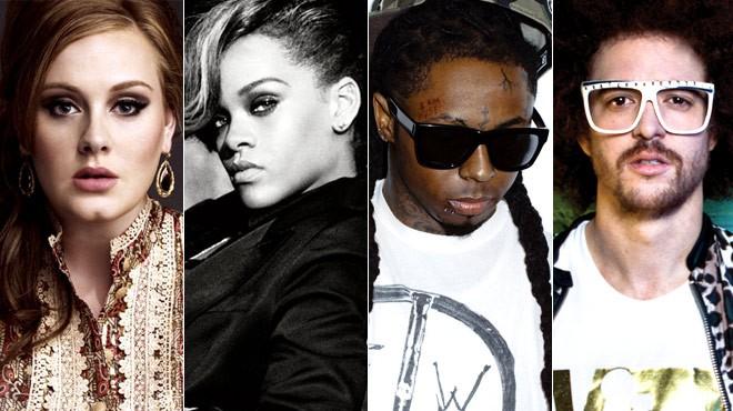 2012 Billboard Music Awards Finalists: Complete List