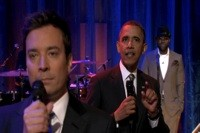 Watch President Obama Slow-Jam The News with The Roots on 'Fallon'