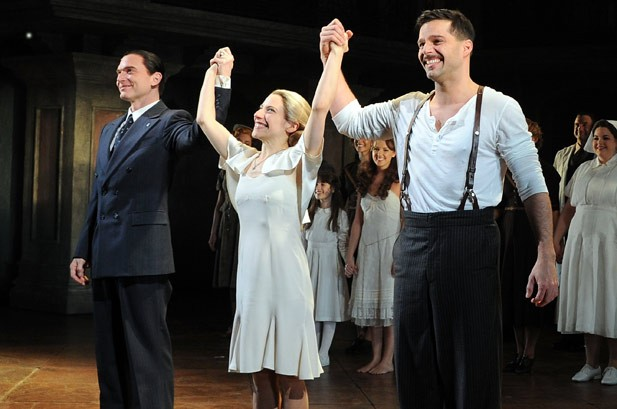 Ricky Martin Saying Goodbye to 'Evita'
