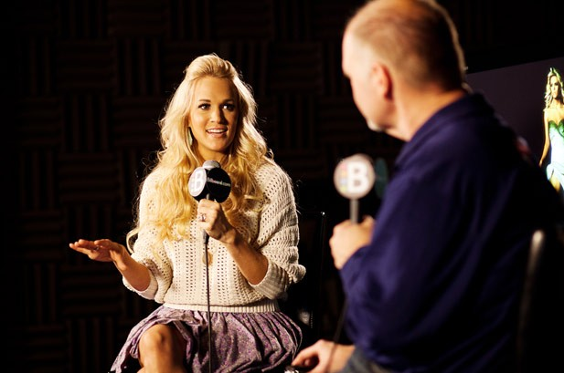 Carrie Underwood: Behind-the-Scenes at the Live Q&A