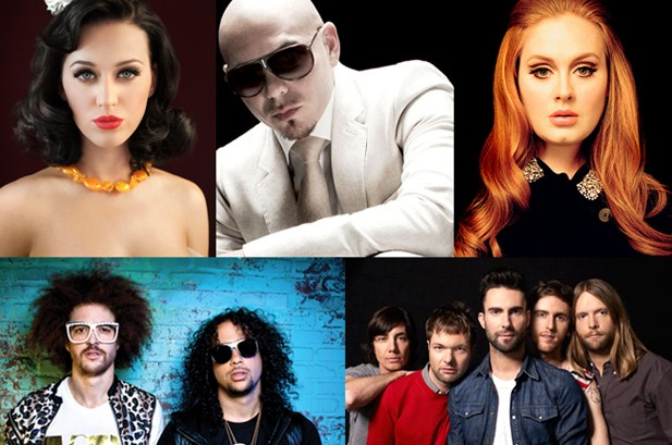 The Top 100 Pop Songs 1992-2012, From No. 100 To No. 1