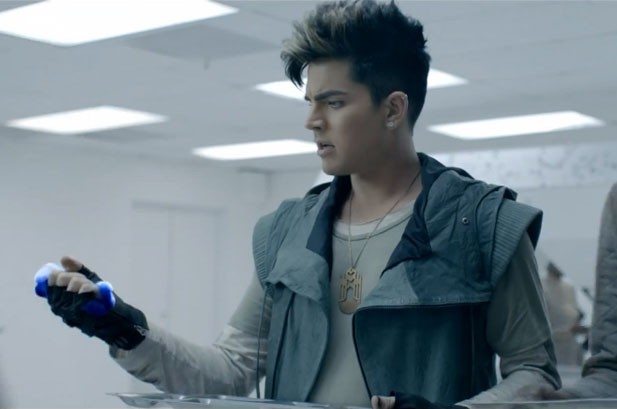 Adam Lambert Goes Sci-Fi for 'Never Close Our Eyes' Video