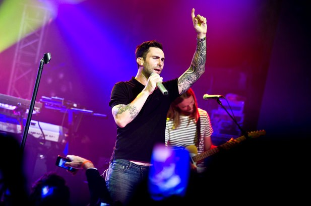 Maroon 5's 'One More Night' Ties for Hot 100's Longest Lead This Year