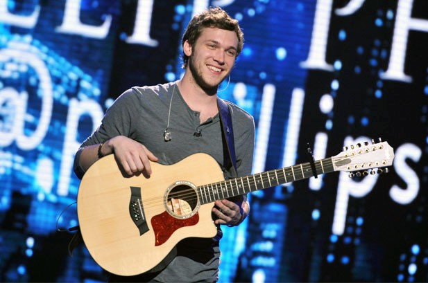 Weekly Chart Notes: Phillip Phillips Finds His 'Home' At No. 1
