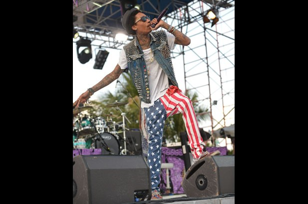 Rockin' the Flag: 35 Musicians Wearing the Stars & Stripes