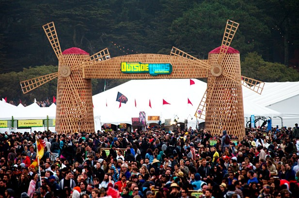 Outside Lands 2012: A general view of Outside Lands in San Francisco, August 10.