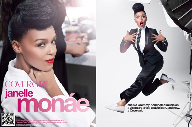 Janelle Monae Named the New Face of CoverGirl
