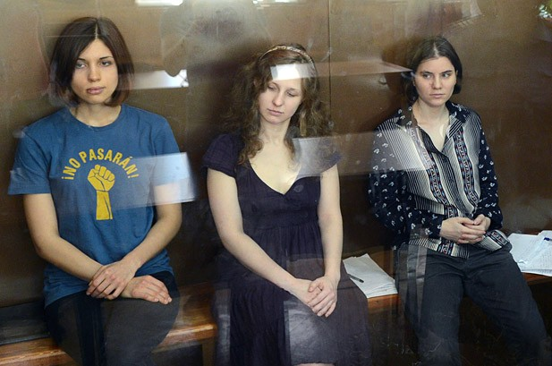 Pussy Riot Member Freed, Two Bandmates Remain in Moscow Prison