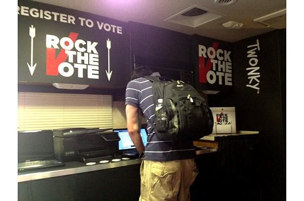 Jack Johnson: Exclusive Rock the Vote Diary