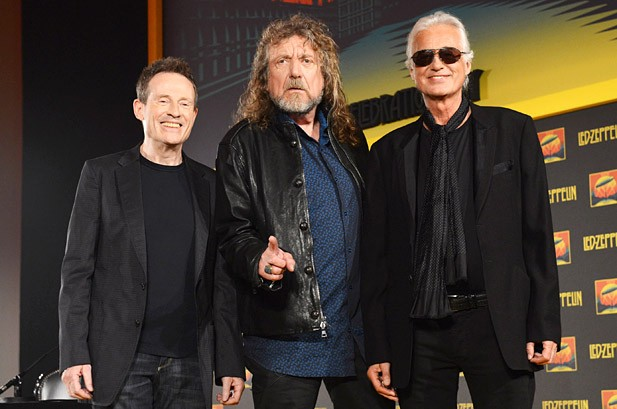 Led Zeppelin to Make 'Late Show' Visit