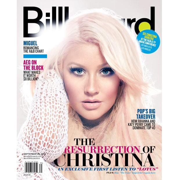 Christina Aguilera: Billboard Cover Story