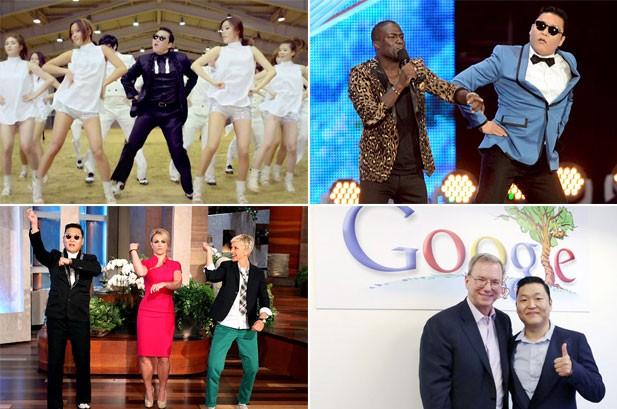 PSY Photos: 'Gangnam Style' Invades America