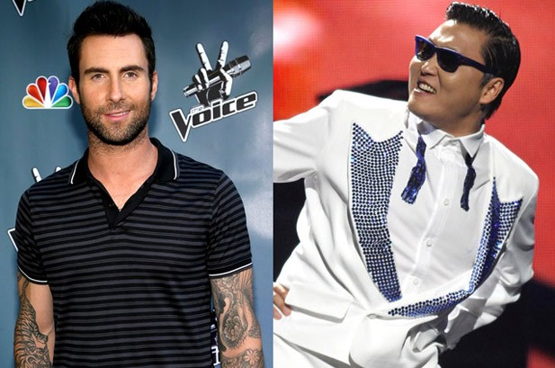 Weekly Chart Notes: Maroon 5, PSY Remain Hot 100's Mane Men
