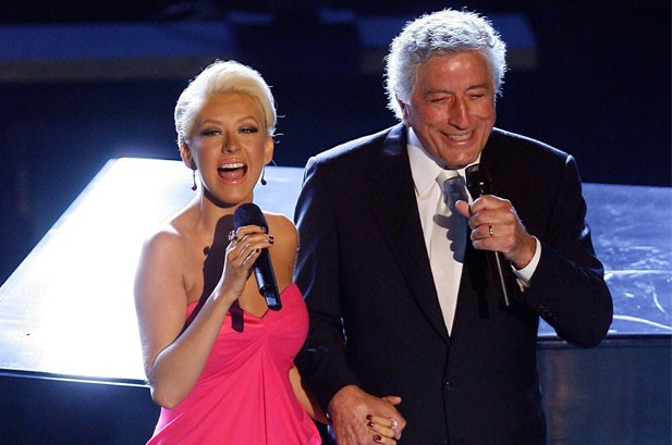 Tony Bennett & Christina Aguilera Duet on 'Steppin' Out With My Baby': Listen