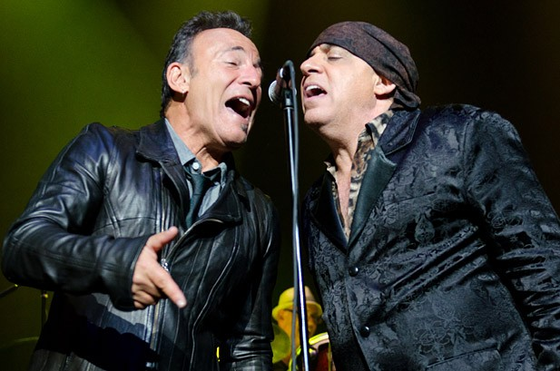 Bruce Springsteen Presents 'Big Man' Honors to Steven Van Zandt