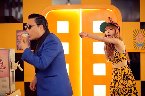 HyunA, 'Gangnam Style' Star, Releases 'Ice Cream' Video with PSY: Watch