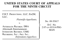 UMG Settles With FBT Productions in Landmark Eminem Digital Revenues Lawsuit