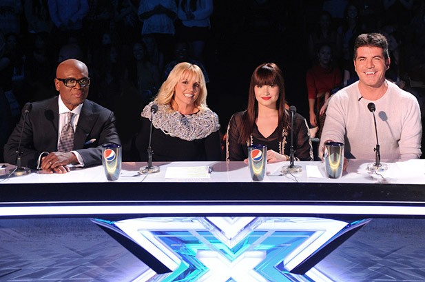 Britney Spears Passes 'X Factor' Live Test