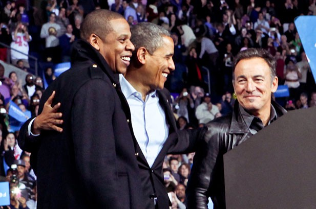Jay-Z at Obama Rally: 'I Got 99 Problems But Mitt Aint One'