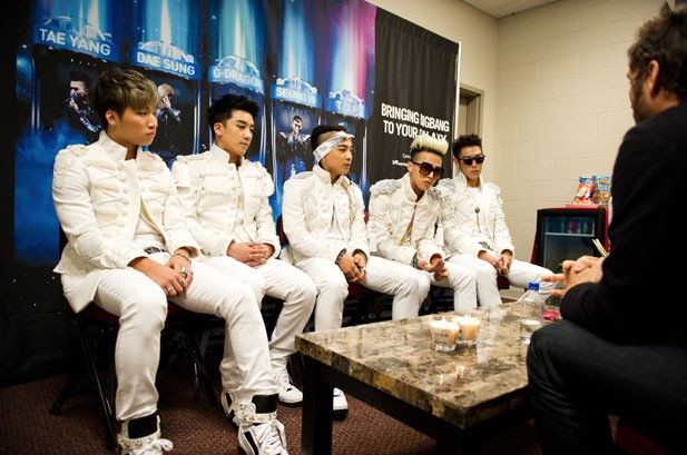 BIGBANG in America: Exclusive Backstage Photos