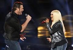 Christina Aguilera, Blake Shelton Unveil 'Just A Fool' on 'The Voice'
