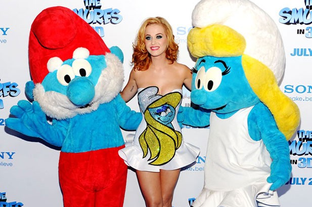 Katy Perry on 'Smurfs 2' and Her Film Future: 'I Want to Transform'